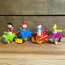 PEANUTS Mcdonald Happy Meal Toy Set/ピーナッツ マクドナルド ハッピーミールトイ スヌーピー全種セット/170110-1