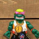 TURTLES Rappin' Mike/タートルズ ラッピン ミケランジェロ フィギュア/170426-4