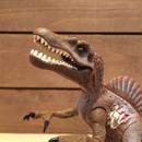JURASSIC PARKⅢ Re-ak A-tak  Spinosaurus Figure/ジュラシックパーク 3 リアーク・アタック スピノサウルス フィギュア/180626-9