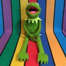 THE MUPPETS Kermit Plush/ザ・マペッツ カーミット ぬいぐるみ/160901-15