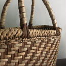 【一点のみ、新品】奥会津の胡桃の手編みカゴバッグ