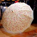 UVカット 傘専門店 通販 東京 雨傘 日傘 グラスファイバー 丈夫 旅傘【和柄  梅  beige】