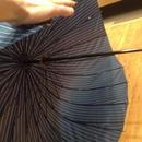 傘専門店  通販  東京  雨傘  グラスファイバー  サビない  軽量  旅傘  【24本骨  蛇の目風ストライプ】