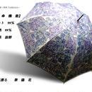 UVカット99% 傘専門店  通販  東京  日傘  雨傘  晴雨兼用   ワンタッチ  ジャンプ  グラスファイバー  軽量  サビない  旅傘  【ポリウレタンコート  紫陽花】