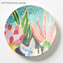 【Anthropologie】Lulie Wallace Melamine Canape Plate ルーリー・ウォレス カナッペプレート コーラル