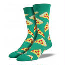 【SOCK SMITH】Pizza Green メンズソックス ピザ