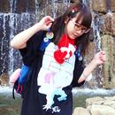 【くろ】CHANTACHI BUCCO! Tシャツ【絵柄2色】