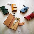 keycase -木と革のキーケース- オーク5種