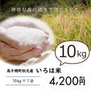 高千穂秋元のお米『いろは米』10kg ※白米・玄米選べます