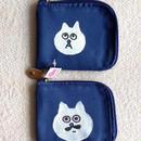 猫の小林さんのお財布・手描き一点ものシリーズ