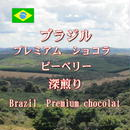 ブラジル プレミアムショコラ ピーベリー 深煎り 100g