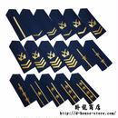 【空軍ー学員&兵士&軍官】中国人民解放軍07式 春秋&冬制服用 肩章式階級章