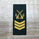【二級軍士長】武装警察特戦&特種兵用 片腕ベルクロ階級章