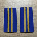 【コレクター商品】中国人民解放軍87式 空軍 軍士長 筒式肩章