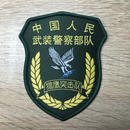 【猟鷹突撃隊】中国人民武装警察 武警特戦 ベルクロ部隊章