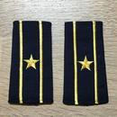 【コレクター商品】中国人民解放軍87式 海軍 少校 筒式肩章(1988年~1992年)
