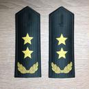 【中将】中国人民解放軍 陸軍 07式夏制服用 軟肩章 階級章