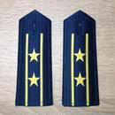 【中校】中国人民解放軍 空軍 07式夏制服用 軟肩章 階級章