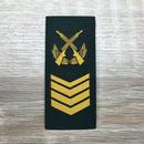 【一級軍士長】武装警察特戦&特種兵用 片腕ベルクロ階級章