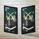 【下士】中国人民解放軍07式迷彩服用 林地迷彩柄 襟章 階級章