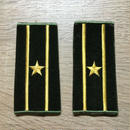 【コレクター商品】中国人民解放軍87式 陸軍 少校 筒式肩章(1992年~)