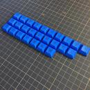 DSA Keycap Set (26Key/Blue)