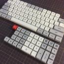 XDA PBT dye-sub 104 Keycap Set(LightGray/Gray)