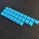 DSA Keycap Set (26Key/LightBlue)