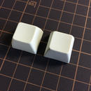 SA PBT Blank Keycap (2Piece/ROW3/Off White)