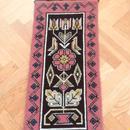 タペストリー/トヴィスト刺繍/チューリップとデイジー