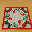 クリスマスプリント/Nisse/ニッセ/ドイリー、クロス/リネン
