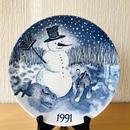 Gustavsberg/グスタフスベリ/Jultallrik/クリスマスプレート/1991年