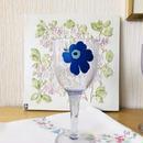 Marimekko/マリメッコ/Unikko/ウニッコ/ワイングラス/メラミン樹脂/ブルー