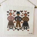 刺繍のタペストリー/クロス刺繍