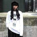 25DRM GUN CLUB LONG SLEEVE TEE 【WHT】