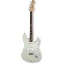 Fender American Vintage '65 Stratocaster® Olympic White / Round-Lam Rosewood ( 0885978140954 )