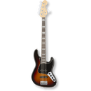 Fender American Elite Jazz Bass® V/Rosewood/ 3-Color Sunburst ( 0885978649907 )