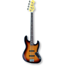 Fender Japan Exclusive Classic 60s Jazz Bass® Fretless / 3-Color Sunburst ( 0717669224165 )