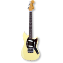 Fender Japan Exclusive Classic 70s Mustang / R / Yellow White ( 0717669223809 )