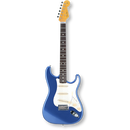 Fender Japan Exclusive Classic 60s Stratcaster Rosewood / Old Lake Placid Blue ( 0717669903633 )