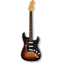 Fender Stevie Ray Vaughan Stratocaster® 3-Color Sunburst / Pau Ferro ( 0717669010195 )