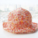 さわやかに風が吹き抜ける帽子(ベビーサイズ)