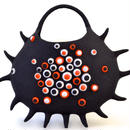 Jewelry of the sea. sea anemone bag♪ black