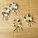 plate pearl earrings