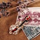 costume jewelry/brooch コスチュームジュエリー ブローチ    ■td-614