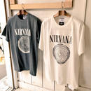 Insonnia projects NIRVANA 90'S VINTAGE TEE CIRCLE