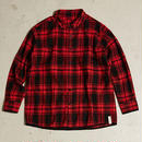 AlexanderLeeChang    SEO-L CHECK SHIRTS   RED
