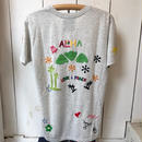 【birdog】 手刺繍Tシャツ ALOHA