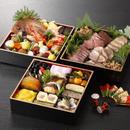 おせち料理(三段重)  お節の後のお楽しみ鯛飯セット付