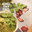 [お試しモニター実施中]         モリンガパワーパウダー 有機モリンガ使用 スムージー 粉末タイプ 200g  1食たった34.9キロカロリー